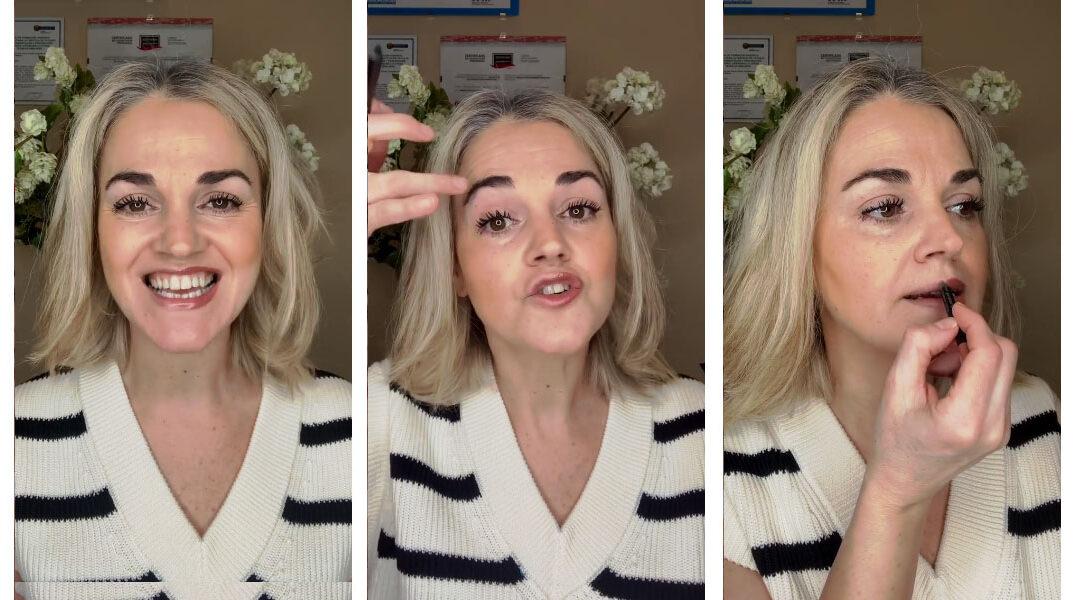 Tendencias para esta primavera: Maquillaje 'nude' para un look navy
